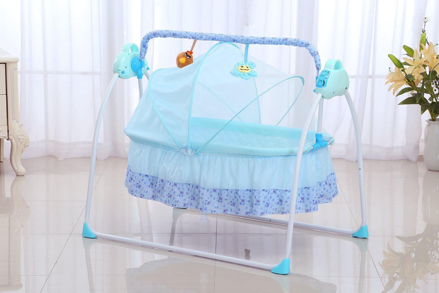 baby cradle swing by spolor